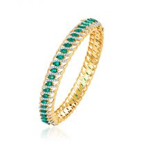 Vibora Bangle by KaratCraft