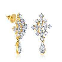 Eclat Earrings by KaratCraft