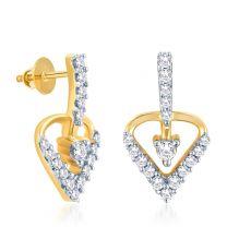 Heartha Earrings by KaratCraft