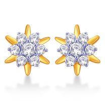 Hestia Diamond Stud Earrings by KaratCraft