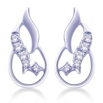 Cypris Stud Earrings by KaratCraft