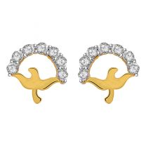 Cassidy Earrings Studs by KaratCraft