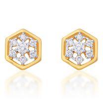 Anvie Earrings Studs by KaratCraft