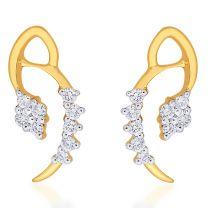 Glorita Earrings Studs by KaratCraft