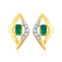 Cezane Diamond Earrings by KaratCraft