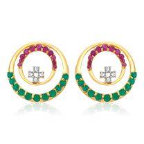 Fernano Earrings by KaratCraft