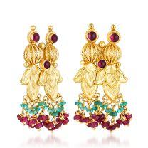 Pravala Earrings by KaratCraft