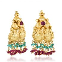 Dvedhi Earrings by KaratCraft