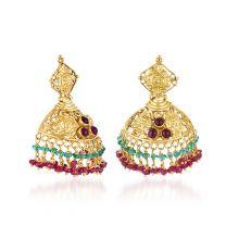 Ardhaka Earrings by KaratCraft