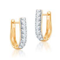 Abigial Gold Earring by KaratCraft