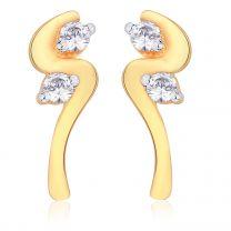 Virvel Earrings by KaratCraft