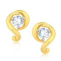 Seqin Diamond lookalike Earrings