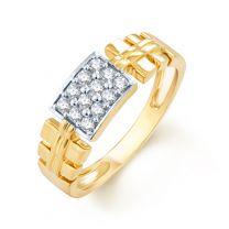 Camino Mens Diamond Ring by KaratCraft