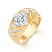 Contura Mens Diamond  Ring by KaratCraft