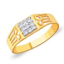 Fortis Gold Ring by KaratCraft