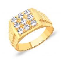 Kaiser Gold Ring by KaratCraft