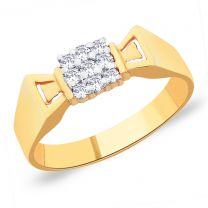 Quadra Gold Ring by KaratCraft
