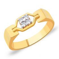 Virtus Gold Ring by KaratCraft