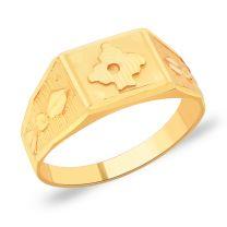 Veerya Gold Ring by KaratCraft