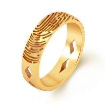 Impressao Fingerprint Ring by KaratCraft