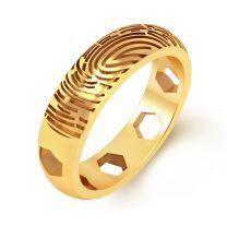 Frigalo Fingerprint Ring by KaratCraft