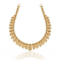 Aamrapali Gold Necklace by KaratCraft