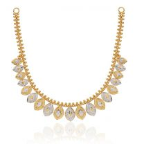 Sonaa Chaandi Gold Necklace by KaratCraft