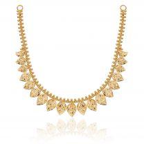 Dayita Gold Necklace by KaratCraft