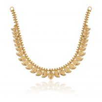 Sonalisha Gold Necklace by KaratCraft