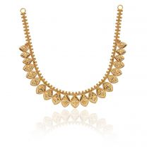 Jagrati Gold Necklace by KaratCraft