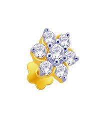 Shubha Diamond Nose Pin by KaratCraft