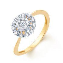 Floral Blast Ring by KaratCraft