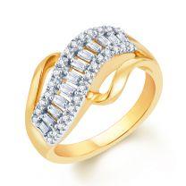 Escada Diamond And Gold Ring by KaratCraft