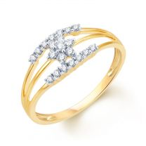 Two Lives Meeting Ring by KaratCraft