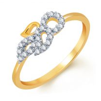 Trian Diamond Ring by KaratCraft