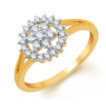 Sunny Floral Ring by KaratCraft