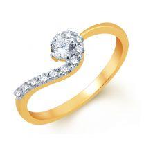 Donna Diamond Ring by KaratCraft