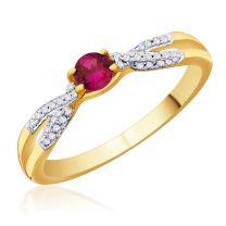 Riviera Ruby Ring by KaratCraft