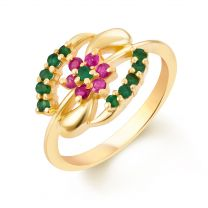 Gopikana Ring by KaratCraft