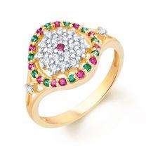 Champakmali Ring by KaratCraft