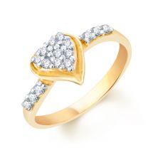 Roshna Heart Ring by KaratCraft