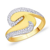 Berna Gold Ring by KaratCraft
