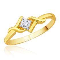 Sieme Solitaire Lookalike Ring by KaratCraft