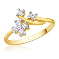 Ailena Gold Ring by KaratCraft