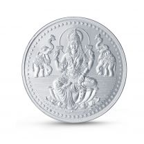 Laxmi Pure 999 Silver Coin by KaratCraft