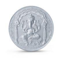Ganesha 50 gram Silver Coin by KaratCraft