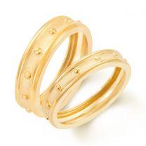 Vasitio Couple Wedding Rings by KaratCraft