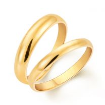 Timeless Couple Wedding Rings by KaratCraft
