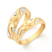 I Do Couple Wedding Rings by KaratCraft