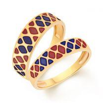 Starsky Couple Rings by KaratCraft